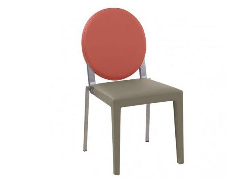 Taupe oval chair ADULIS | Chair by GAUTIER FRANCE
