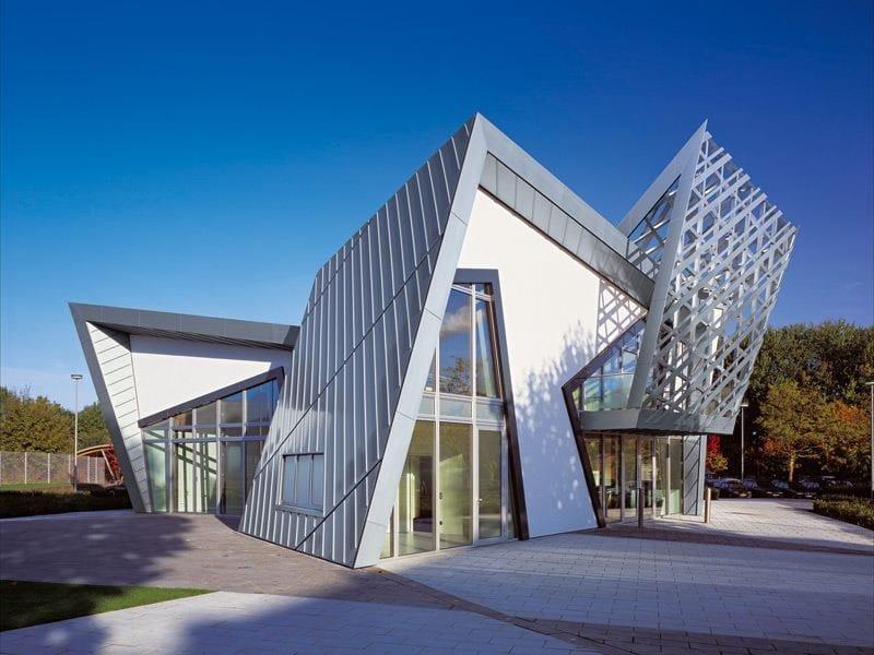 Titanium-Zinc Metal sheet and panel for roof Titanium-Zinc Continuous metal laminate for roof by RHEINZINK Italia