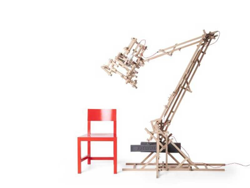 Height-adjustable adjustable floor lamp BRAVE NEW WORLD LAMP XL by moooi