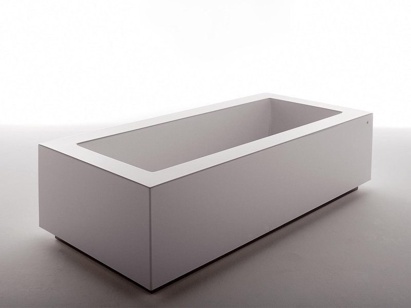 Rectangular bathtub GRANDE by Kos by Zucchetti