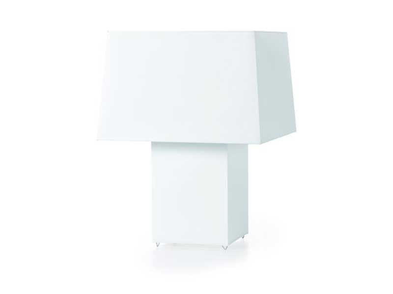 Steel table lamp DOUBLE SQUARE LIGHT by moooi