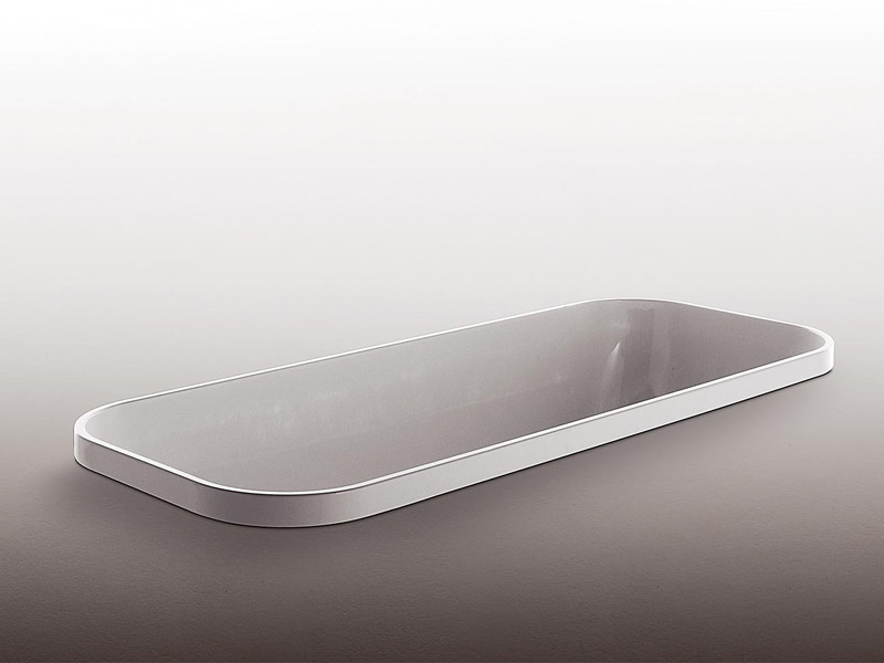 Built-in rectangular methacrylate bathtub GEO by Kos by Zucchetti