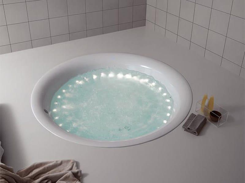 Vasche Da Bagno Kos : Vasca da bagno rotonda in metacrilato geo kos by zucchetti