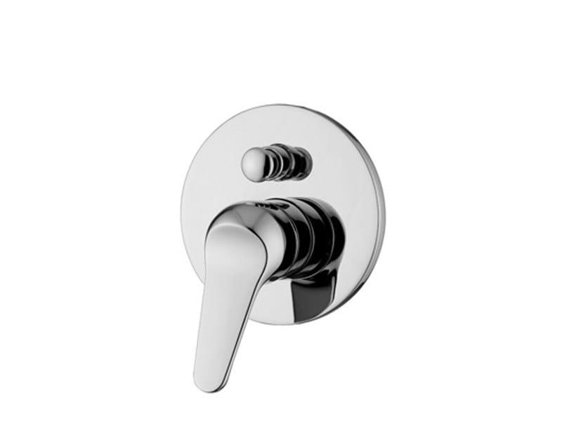 Bathtub tap / shower tap ZETAMIX 1900 | 1 hole shower mixer by ZUCCHETTI