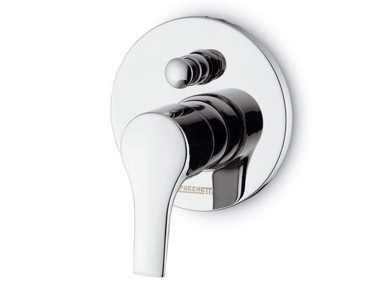 Bathtub tap / shower tap FLAT | Single handle shower mixer by ZUCCHETTI