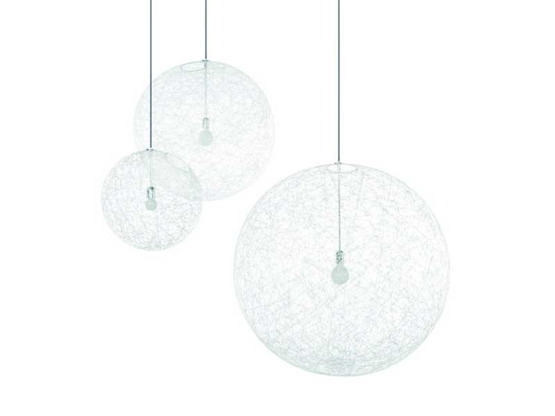 LED glass-fibre pendant lamp RANDOM LIGHT II by moooi