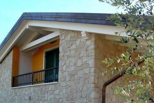 Rivestimento in pietra ricostruita per esterni vicentina italpietra - Rivestimento per esterno in pietra ...