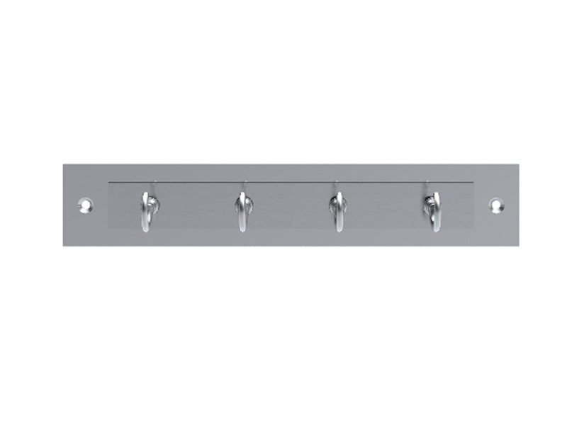 Wall-mounted brass coat rack 1502 | Wall-mounted coat rack by Enrico Cassina