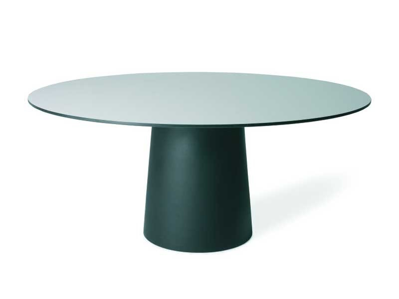 Round resin table CONTAINER TABLE 180 ROUND by moooi