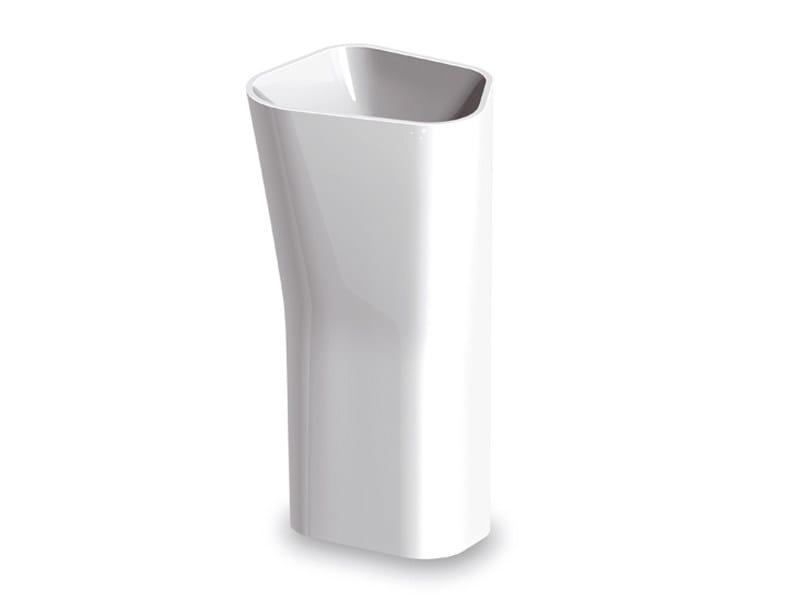Pietraluce® washbasin LAB 01   Freestanding washbasin by Kos by Zucchetti