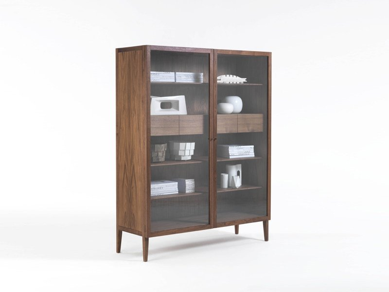 Attractive Solid Wood Display Cabinet LIGHT | Display Cabinet By Riva 1920 Good Looking
