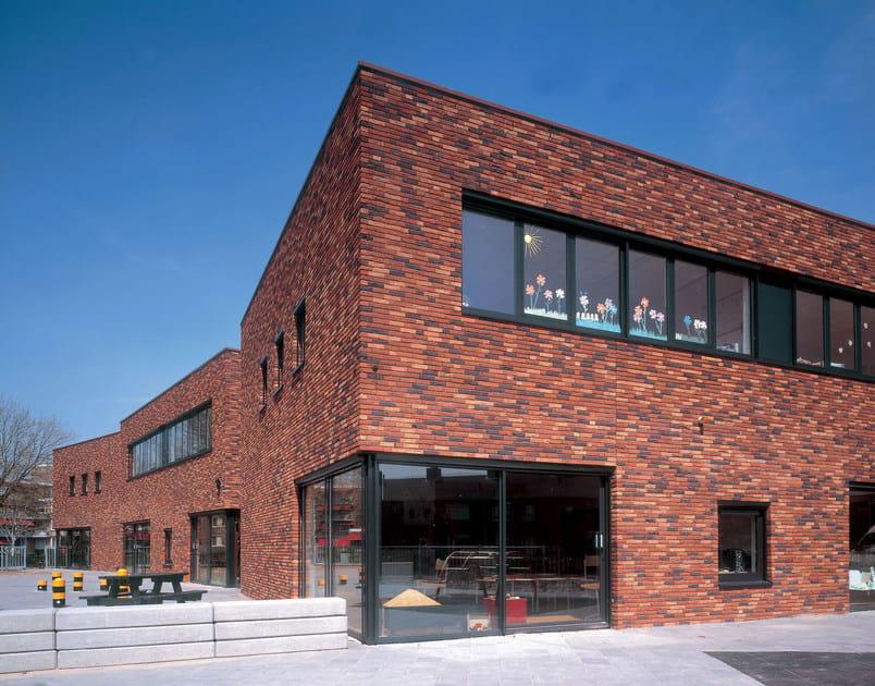 Fair faced clay brick CUSTOM BLENDS by FORNACE S. ANSELMO
