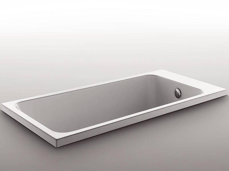 Methacrylate bathtub SOFT by Kos by Zucchetti
