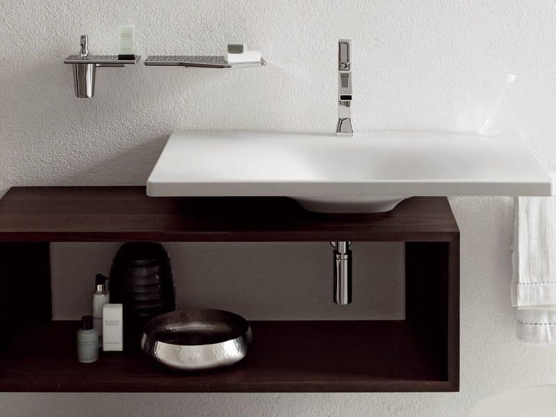 ... bagno sospeso in frassino FARAWAY  Mobile bagno - Kos by Zucchetti