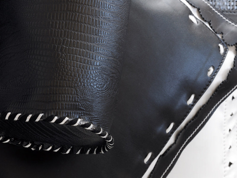 Upholstery fabric PERFECT LEATHER by Élitis