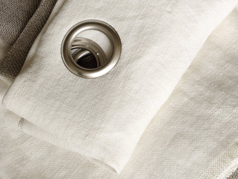 Linen fabric for curtains LINS INEFFABLES by Élitis