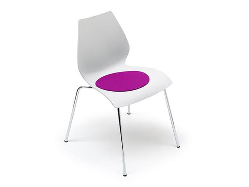 Round felt chair cushion MAUI by HEY-SIGN
