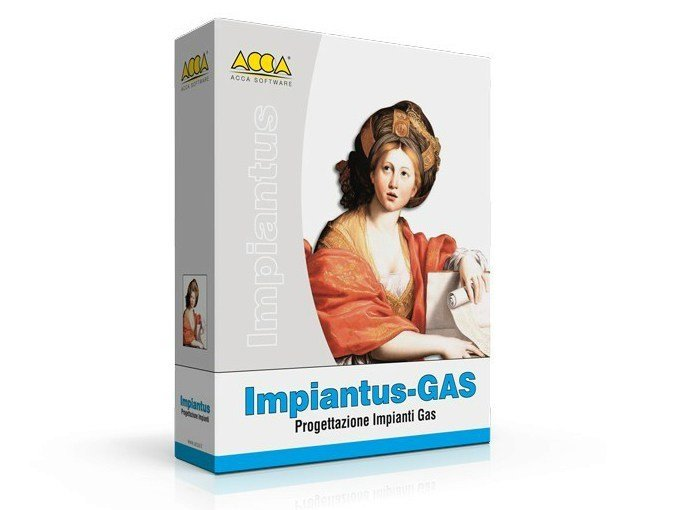 Designing Networks GAS Impiantus-GAS by ACCA software
