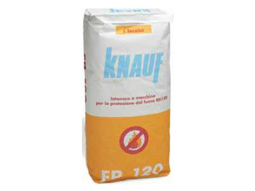 Fire-resistant plaster FP120 by Knauf Italia