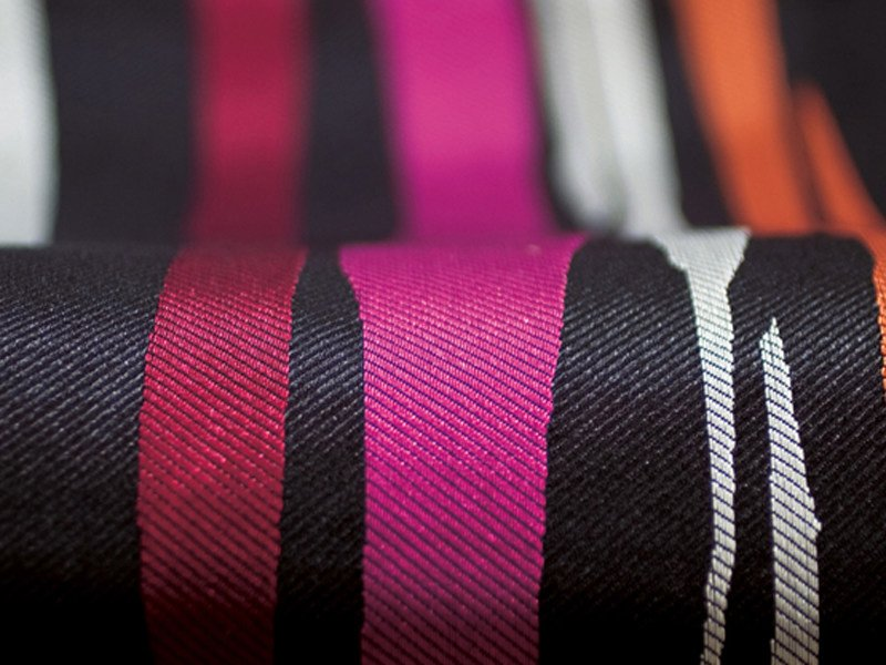 Jacquard polyester upholstery fabric HYPE by Élitis
