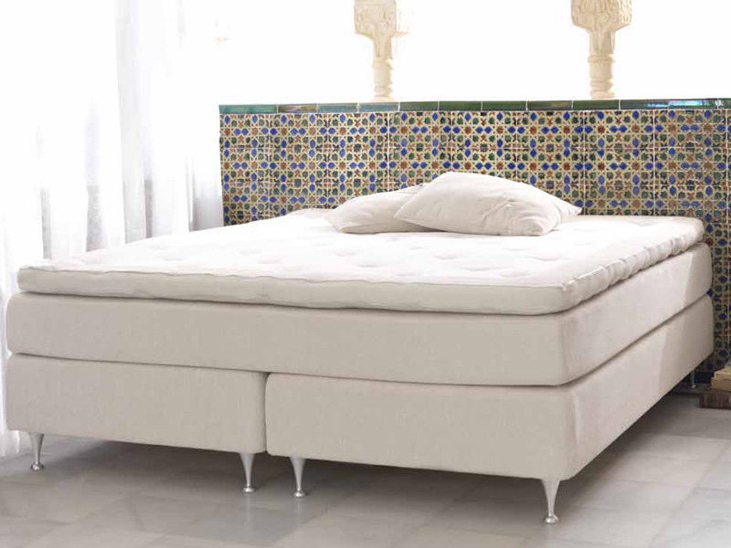 Fabric double bed KORNÖ by Carpe Diem