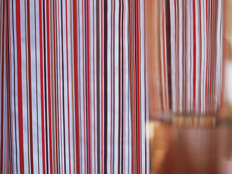 Fire retardant polyester fabric for curtains TUTTI FRUTTI by Élitis