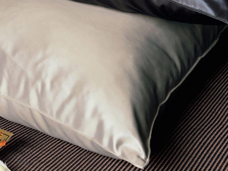 Fire retardant polyester fabric for curtains SATIN CUIR by Élitis