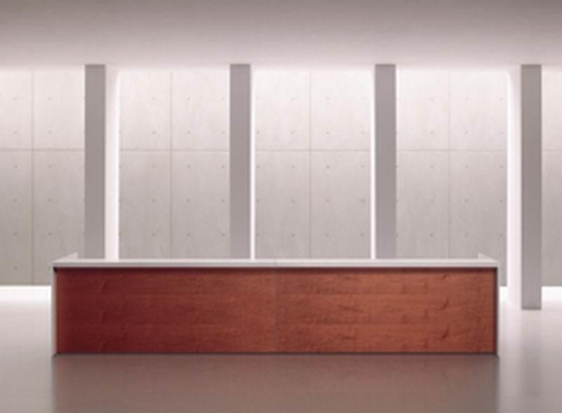 RECEPTION | Banco reception per ufficio RECEPTION Banco reception per ufficio - Bancone basso o tavolo conferenza, piano e frontale in nobilitato o legno