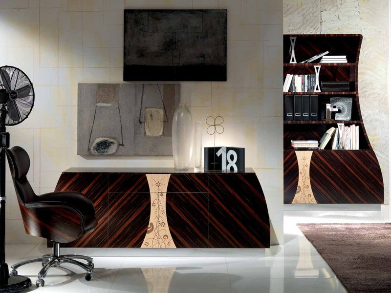 Wooden sideboard CARTESIO | Sideboard by Carpanelli Contemporary