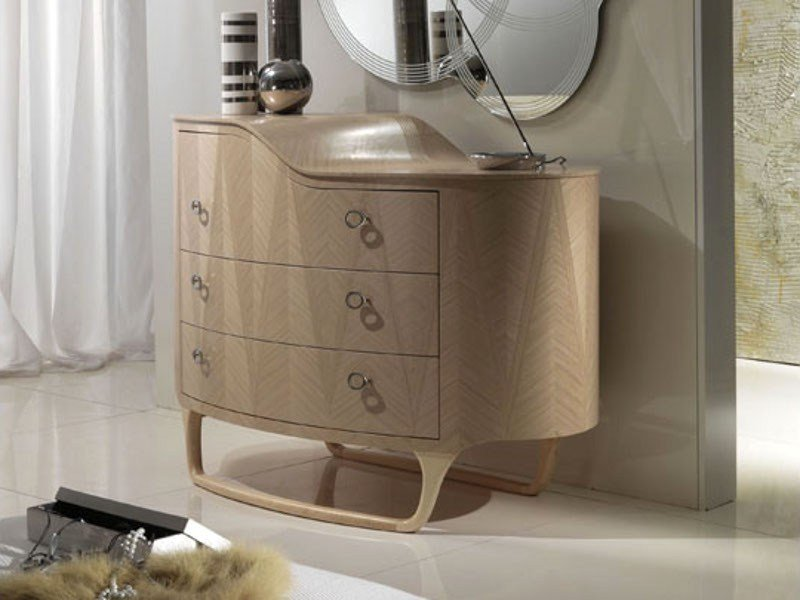 Wooden chest of drawers IRIDE | Chest of drawers by Carpanelli Contemporary