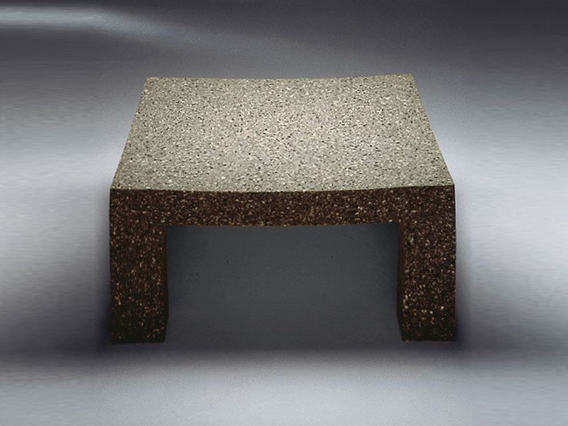 Square coffee table ELAS - TISCH by Draenert