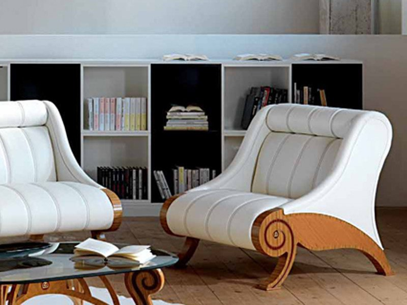 Armchair with headrest CONTEMPORARY | Armchair by Carpanelli Contemporary