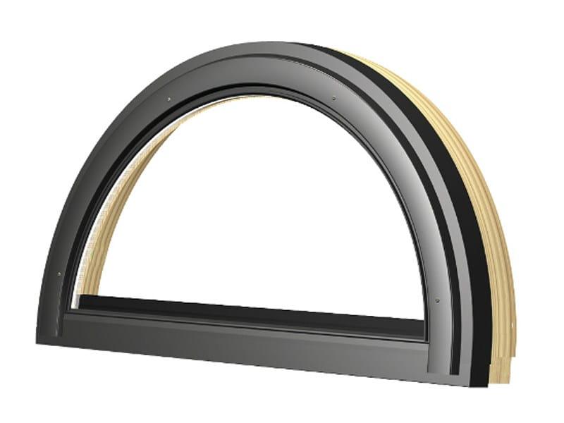 Aluminium and wood window FAP L3 - FBP L3 by FAKRO