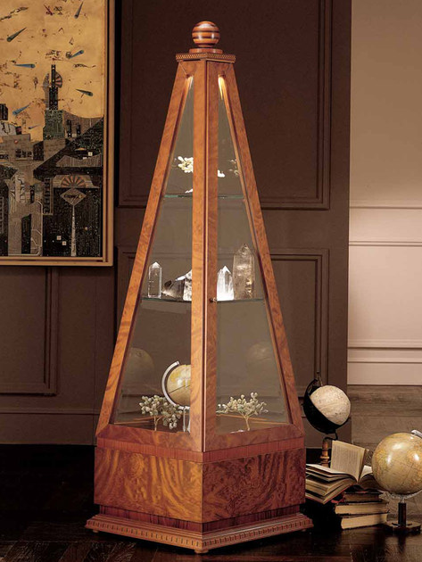 Briar display cabinet OBELISCO by Carpanelli Classic