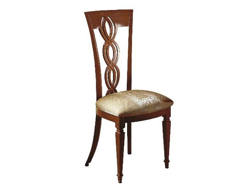 Walnut chair TRECCIA by Carpanelli Classic