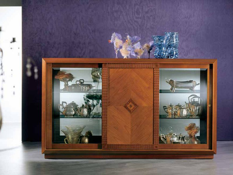 Maple sideboard with doors ARTE | Sideboard by Carpanelli Classic
