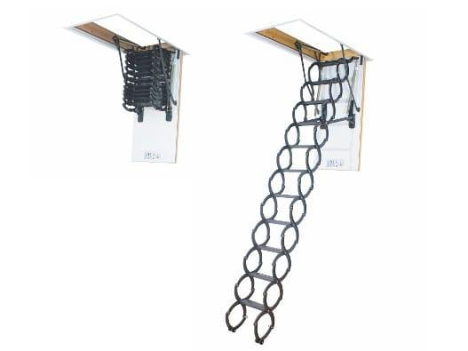 Scissors loft ladder LSZ by Fakro