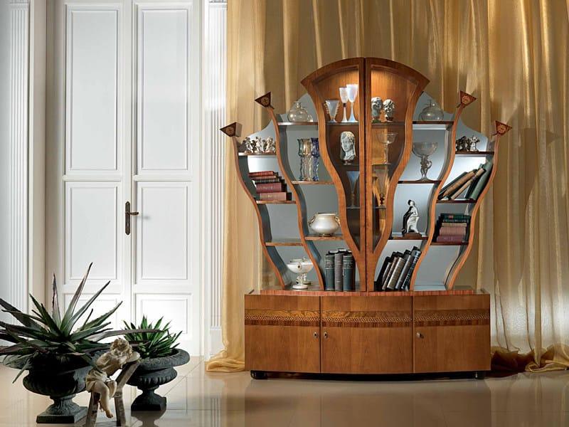 Bookcase Display cabinet ALBERO by Carpanelli Classic