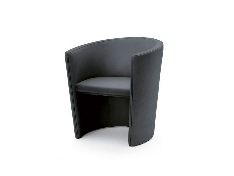 Upholstered armchair DIALOG by Wittmann