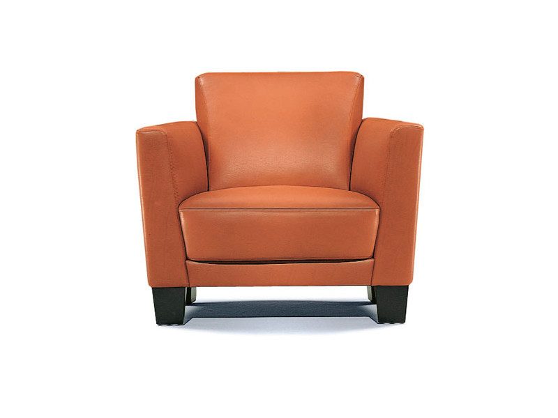 Upholstered armchair with armrests ODESSA | Armchair by Wittmann