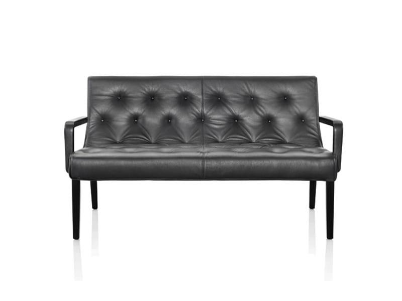 Leather sofa LESLIE | Sofa by Wittmann