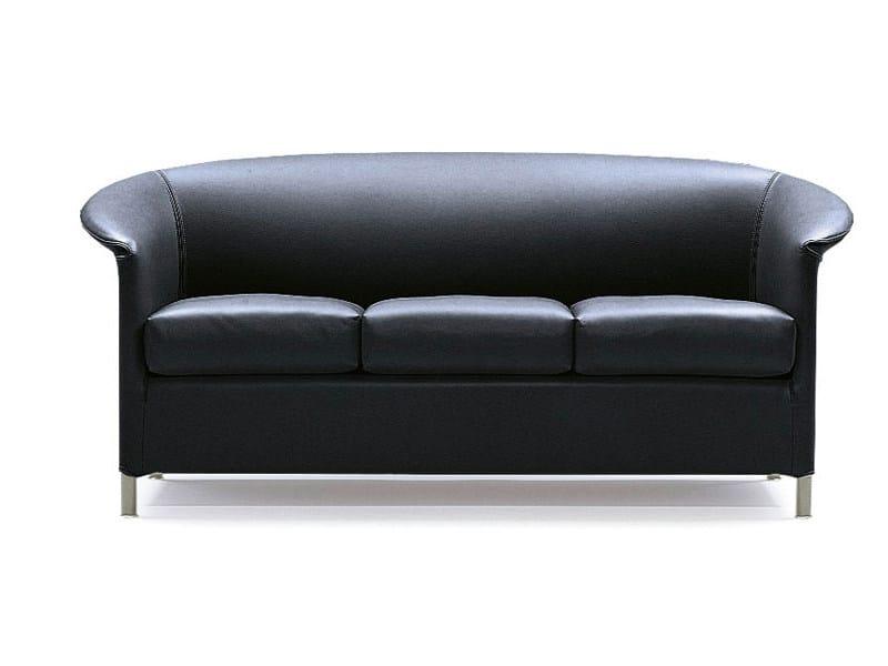 Leather sofa AURA | Sofa by Wittmann