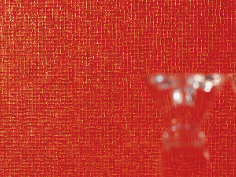 Relief solid-color vinyl NACRES by Élitis