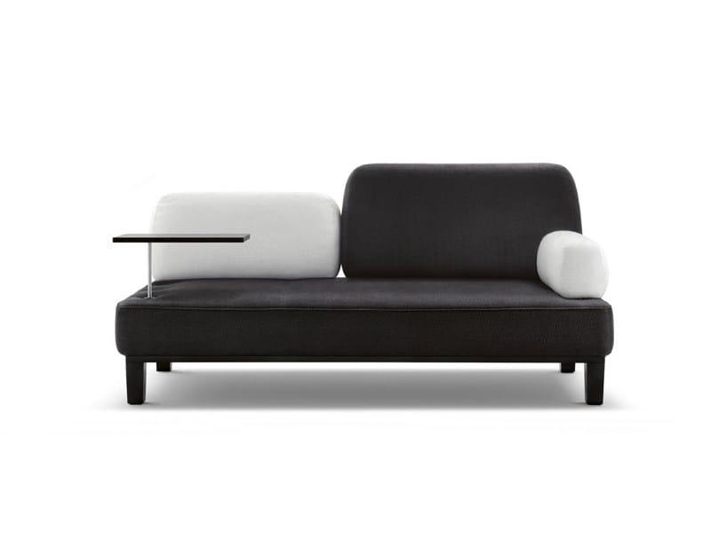 Sofa with integrated magazine rack FLOYD   Sofa by Wittmann