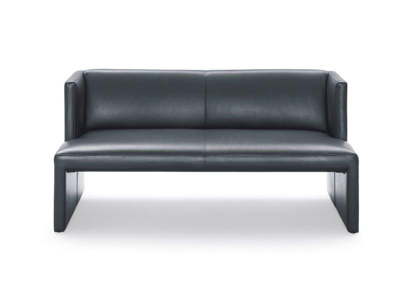 Leather sofa CORSO | Sofa by Wittmann