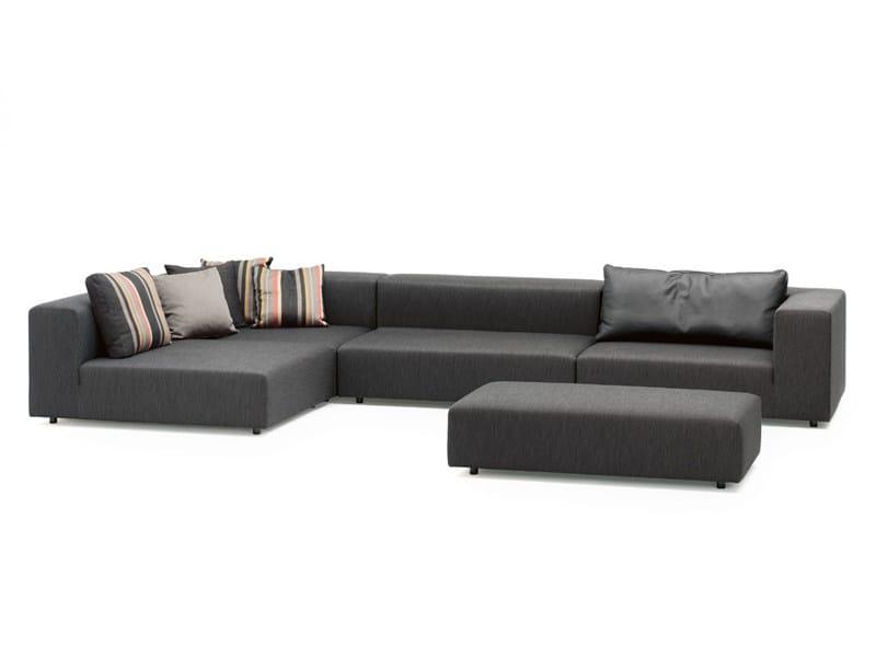 Sectional fabric sofa LOFT | Sofa by Wittmann
