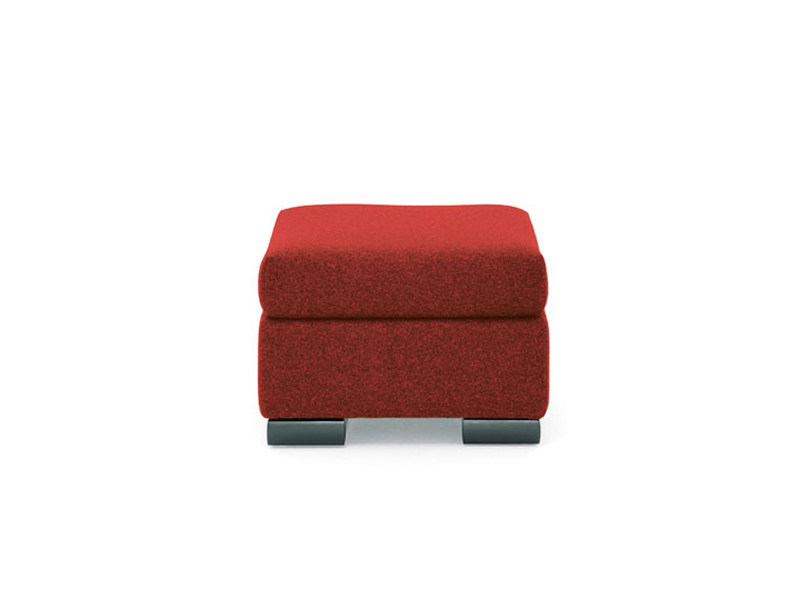 Upholstered pouf CAMIN   Pouf by Wittmann