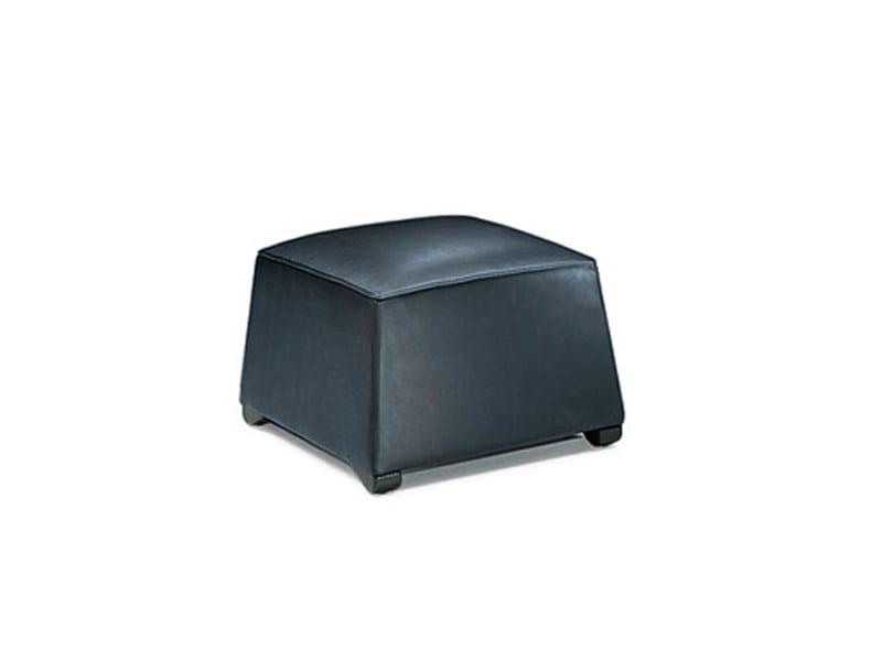 Upholstered pouf DUKE | Pouf by Wittmann