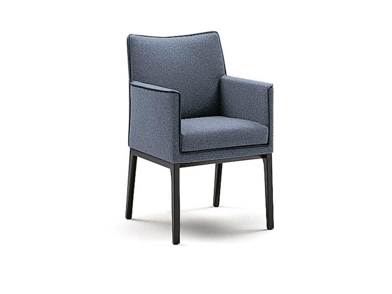 Upholstered chair SEDAN | Chair by Wittmann