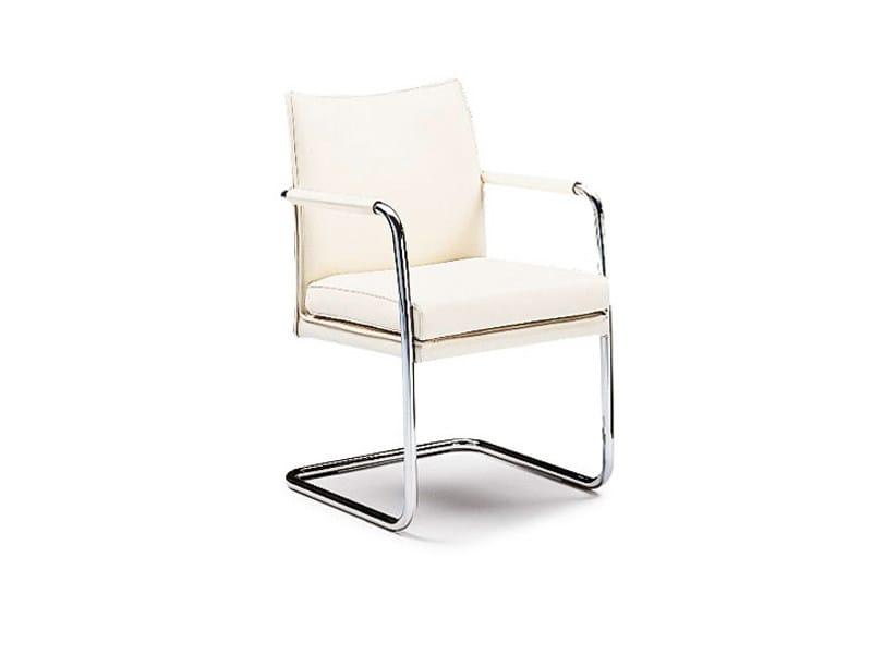 Sled base chair SEDAN | Sled base chair by Wittmann